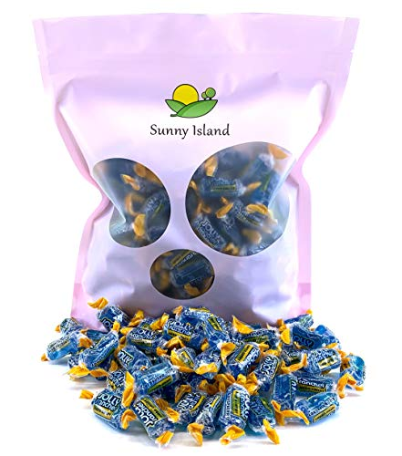 Sunny Island - Jolly Rancher Hard Candy Blue Raspberry Flavor, Cholesterol-Free Candy, 2 Pounds]()