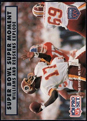 Football NFL 1990-91 Pro Set Super Bowl 160 #151 Doug Williams NM-MT Redskins - Doug Williams Super Bowl