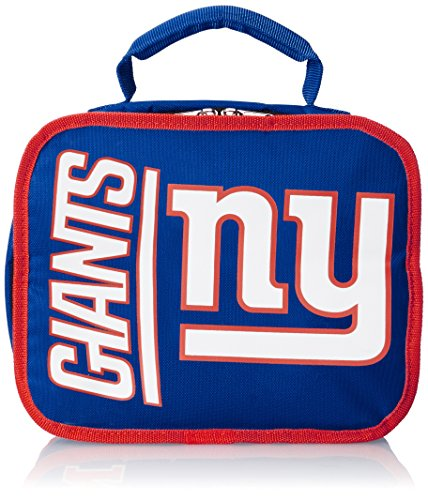 (Officially Licensed NFL New York Giants Sacked Lunchbox , 10.5-Inch, Royal)