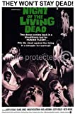 Vintage Horror Movie Poster Night of The Living Dead - 11 x 17 Inch Poster