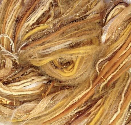 Boutique Yarns Scarf Shawl Knitting Kit Gold