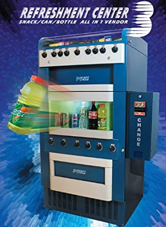 Amazon Com Vm 151 251 Mechanical Combo Vending Machine W Dollar Bill Changer Industrial Scientific