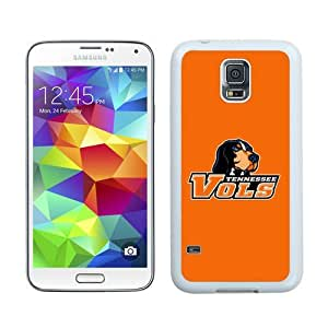 Custom Best Design Southeastern Conference SEC Football Tennessee Volunteers 05 White Samsung Galaxy S5 i9600 Case