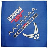 united states bandanna - United States Air Force Bandanna 21 Inches by 21 Inches MADE IN THE USA
