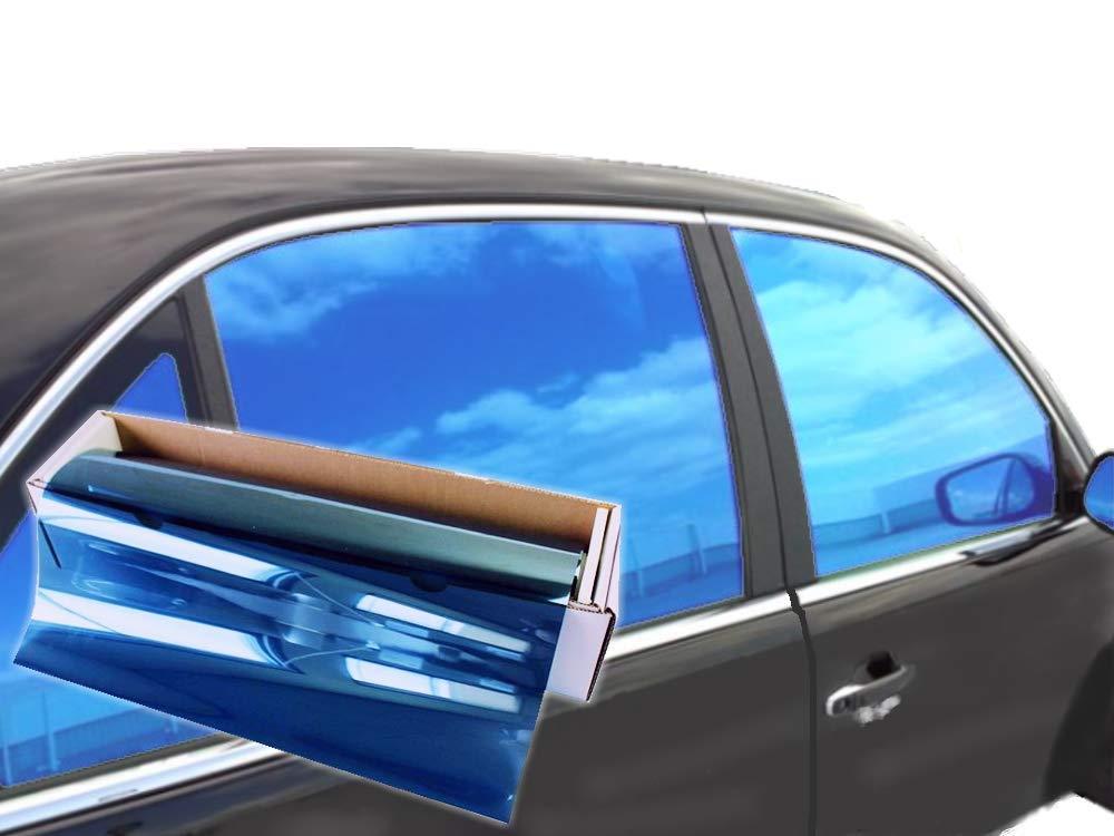 Orange, 40 x 10 JNK NETWORKS Reflective Auto Window Tint Film