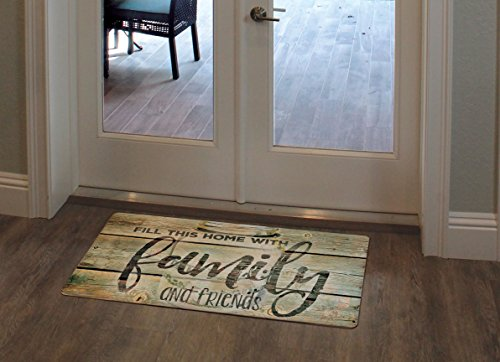 Counter Art 'Family Time' Anti Fatigue Floor Mat, 30 x 20
