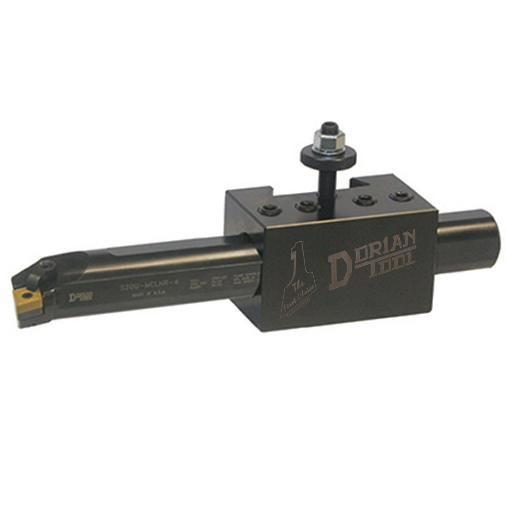 Dorian Tool D41S-CNC Chromium Molybdenum Alloy Steel Quick Change Super Oversized Boring Bar Toolholder with CNC Locking System for SDN35CXA Super Quick Change Tool Post, 1-1/2'' Capacity, 2-31/64'' Height