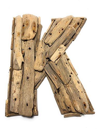 (Tikimaster K Driftwood Letter 10