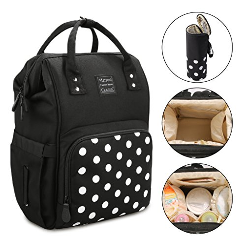 - Marsoul Diaper Bag Backpack - Multi-Function Waterproof Maternity Nappy Bags for Travel with Baby, Baby Backpack, Mommy Bag, Mommy Backpack.-For Mom and Dad