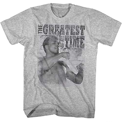 Muhammad Ali 1960s Greatest Boxer Of All Time Training Stance Adult T-Shirt Tee (Top 10 Heavyweight Boxers Of All Time)