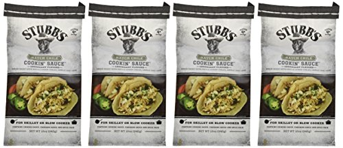 Stubb's Hatch Chili Cookin Sauce 12 oz ( 4 pack)