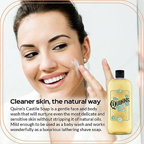 Quinn's Pure Castile Organic Liquid Soap, Unscented, 32 oz by Quinn's (Image #1)