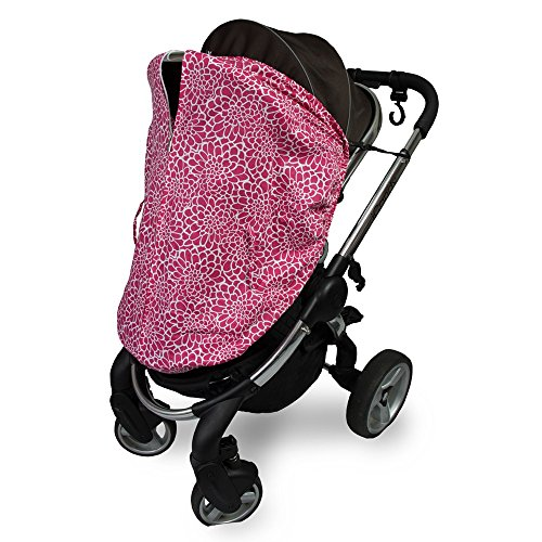 Outlook Universal Cotton Sleep Eazy Stroller Cover (Rose Lace) by Outlook 2010