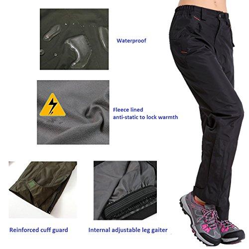 Clothin Women's Insulated Ski Pants