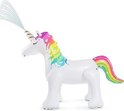 Jasonwell Inflatable Unicorn Sprinkler