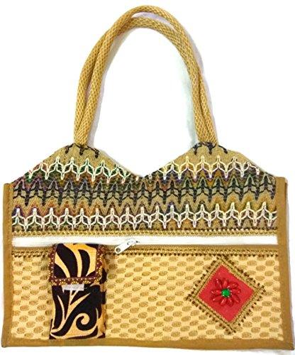 Trend Overseas - Cartera de mano de Seda para mujer multicolor multicolor: Amazon.es: Zapatos y complementos