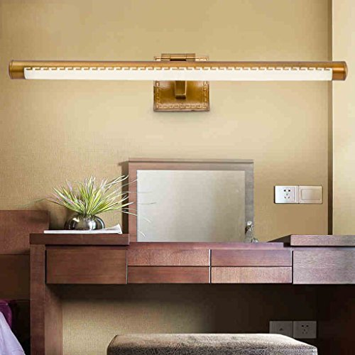 LED Mirror Headlamp Bathroom Mirror Mirror Wall Light Dresser (39CM, 8W) by LITINGMEI Mirror Lamp