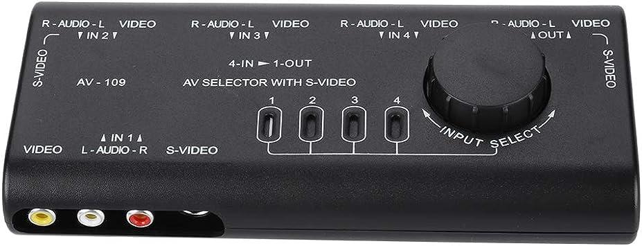 Caja de interruptores AV,AV-109 4 en 1 salida Caja de ...