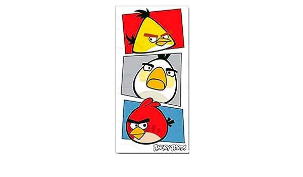 Angry Birds Toalla de playa/toalla, 70 x 140 cm, Original licencia oficial: Amazon.es: Hogar