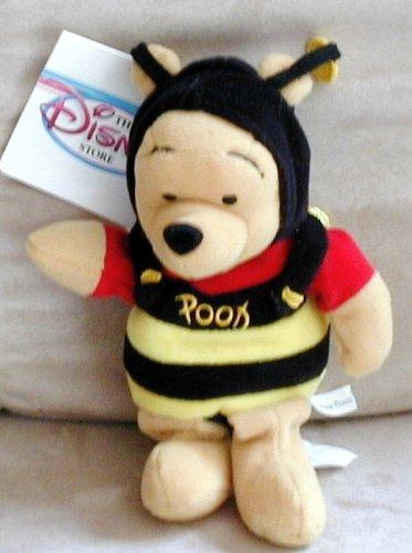 Pooh Plush Beanie (Disney Winnie the Pooh Mini Bean Bag Plush Bumble Bee Pooh 8 inch)