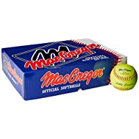 Softbol de MacGregor Little League, 12 pulgadas (una docena)