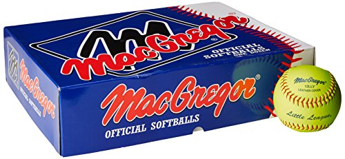 MacGregor Little League Softball, 12-inch (One Dozen)