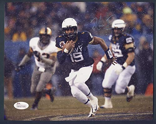 Signed Photo Navy Football Autographed Auto JSA 133932 ()