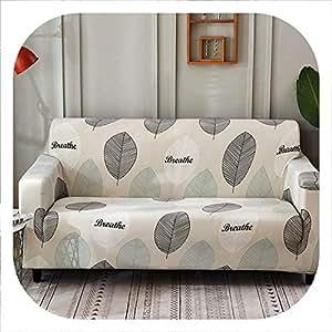 Amazon.com: Funda protectora para sofá, funda elástica para ...