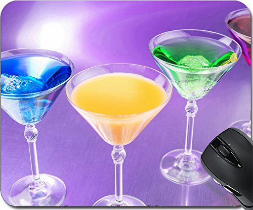 ousepad Mouse Pads/Mat design 27593700 Colorful cocktails in nightclub (Martini Pub Table)