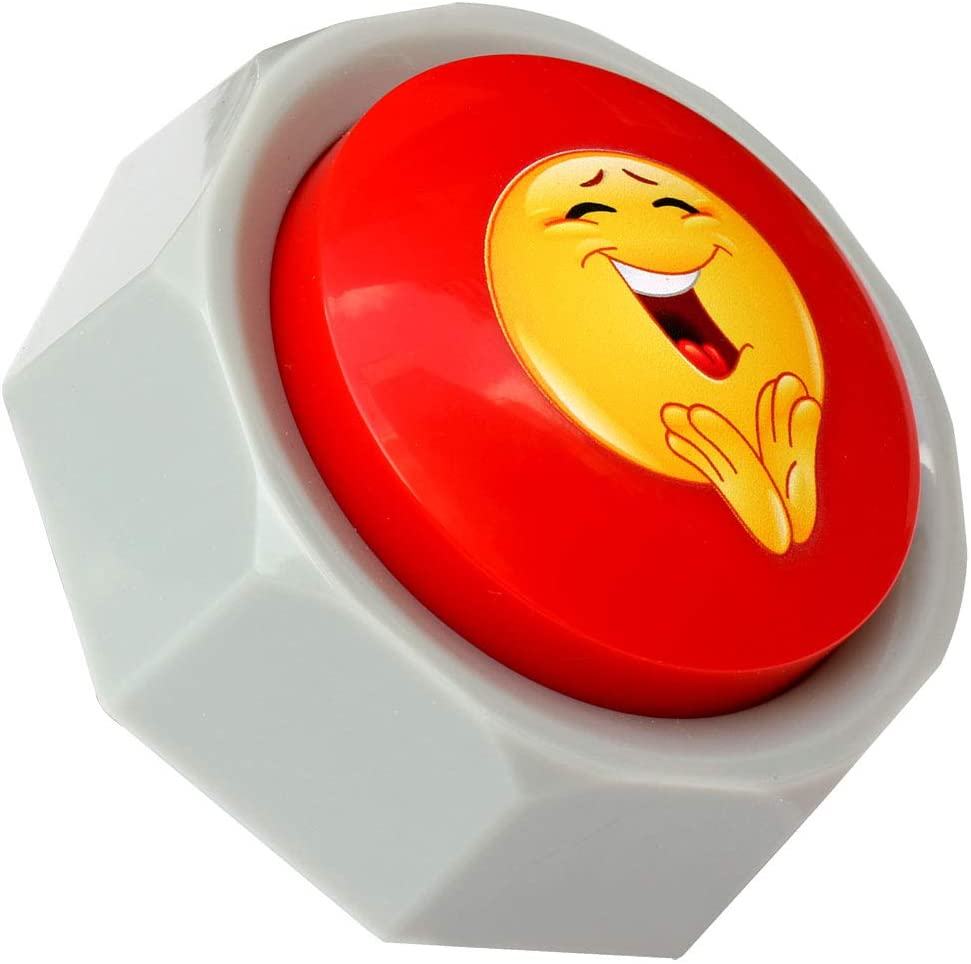 RIBOSY Applause Button Hype Up Your Life Button Applauds When Pressed Batteries Included