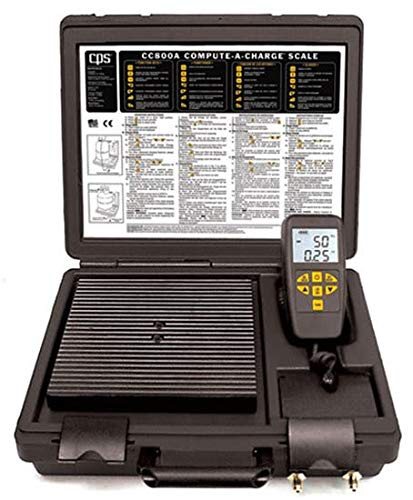 (CPS Products CC800A Programmable Refrigerant Charging Scales)