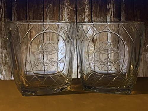 The Crown Royal Cathedral Glass - Set of 2