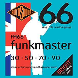 rotosound fm66 swing bass 66 stainless steel funkmaster bass guitar strings 30 50. Black Bedroom Furniture Sets. Home Design Ideas