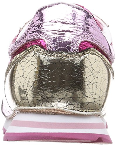 W Cracked Pepe Pink 327 Gold Jeans Turnschuhe Damen Pink Verona Factory fqqUOxn