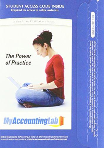 My Accounting Lab