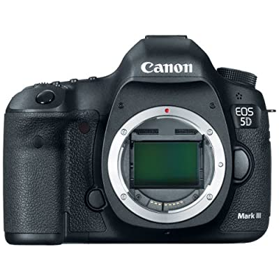 Canon EOS 5D Mark III 22.3 MP Full Frame CMOS with 1080p Full-HD Video Mode Digital SLR Camera (Body) by Canon