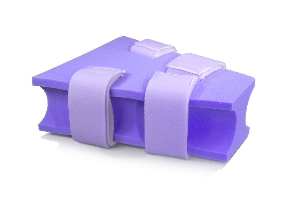 MediChoice Foam Abduction Pillow, Contoured, Disposable, Single Use, Small, Purple, 1314P40408 (Each of 1)