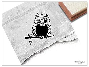 Stempel Kinderstempel Motiv Eule Bildstempel Motivstempel Geschenk Für Kinder Kita Schule Einschulung Basteln Deko Von Zacher Finet