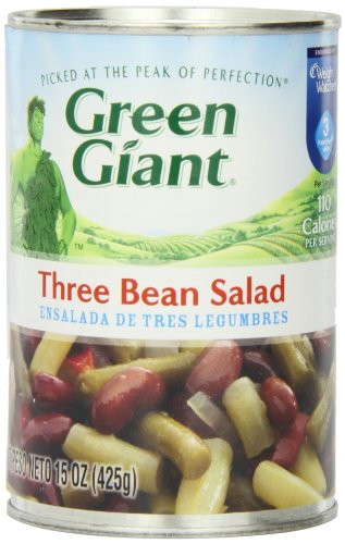 Green Giant Three Beans Salad, 15-Ounce (Pack of 6)