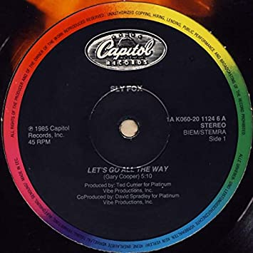 Sly Fox: Let's Go All The Way [12