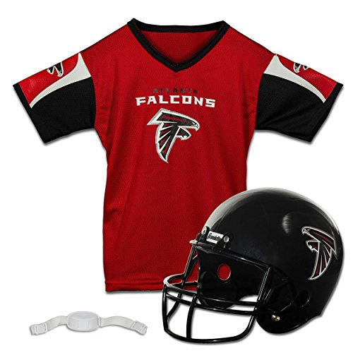 Franklin Sports NFL Atlanta Falcons Replica Youth Helmet and Jersey ()