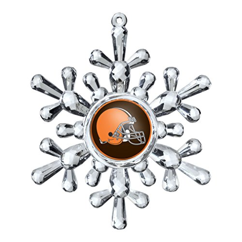 NFL Cleveland Browns Snowflake