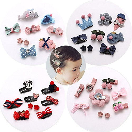 usongs Children hairpin headdress lady princess baby hair less baby child safety clip crown hairpin side clip hair accessories