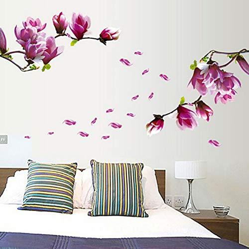 (Tiles Kitchen - Home Decoration Accessory Waterproof Aluminum Foil Wall Sticker Tiled Kitchen Bathroom Tulip Flower - Rampart Pary Fence Gummed Label Palisade - 1PCs)