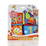 Bright Starts Grab and Stack Blocks Toy