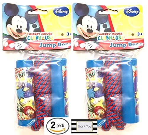 [Mickey Mouse Clubhouse Jump Rope, 2 Pack] (Mickey And Minnie Costumes Adults)