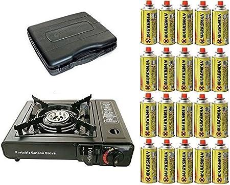 Nueva cocina sola estufa de gas portátil con 20 Gas Camping ...