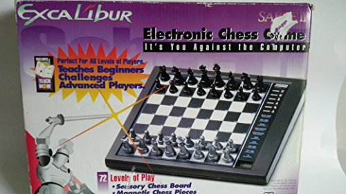 Chess Excalibur Travel (Excalibur Sabre II Electronic Chess Game)