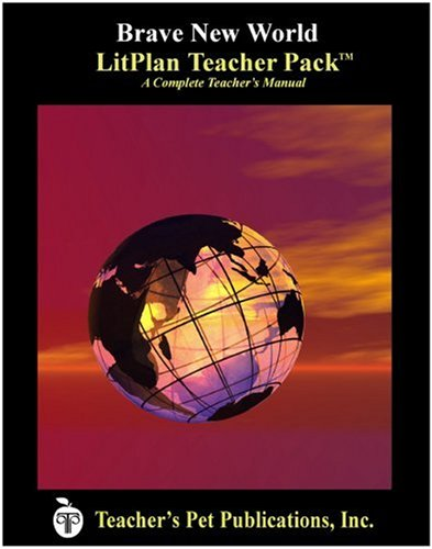 Brave New World LitPlan - A Novel Unit, Teacher Guide With Daily Lesson Plans (Litplans on Cd)