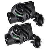 55 gallon power filter - Sunsun 2 X 1300 GPH Circulation Pump Wave Maker Aquarium Reef Powerhead with Suction Cup Mount